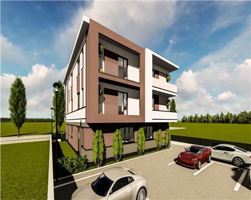Apartamente cu 1 si 2 camere in Giroc zona Antenei