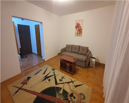 Apartament 2 camere, zona Medicina, centrala proprie, mobilat si utilat complet