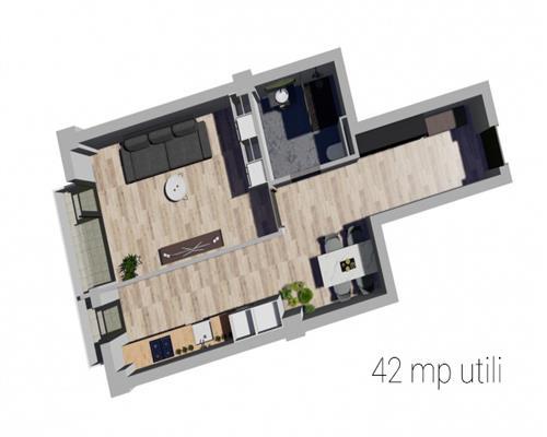 Apartamente cu 1 si 2 camere in Giroc, langa benzinaria ESO, locatie premium