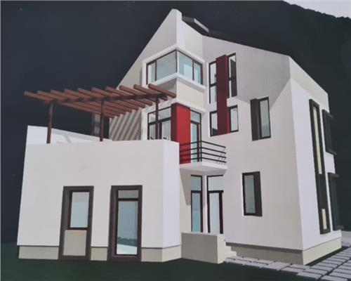 Casa individuala P+E+M in Ghiroda, teren 400 mp