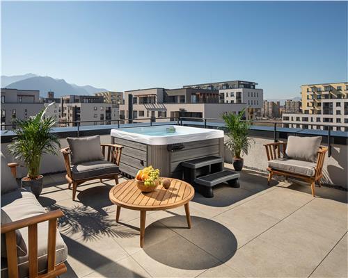 Penthouse Giroc, finisaje premium, terasa de 25 mp