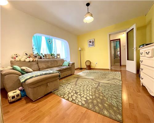 Apartament cu 3 camere, etaj intermediar, zona Dambovita